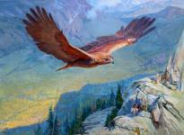 Soaring Throught the Moutains.